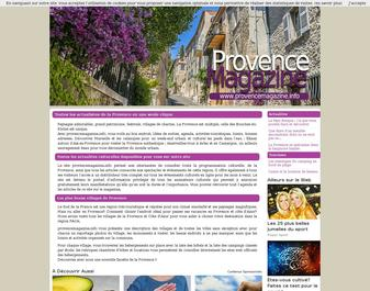 Provence  Magazine : Arts de vivre en provence