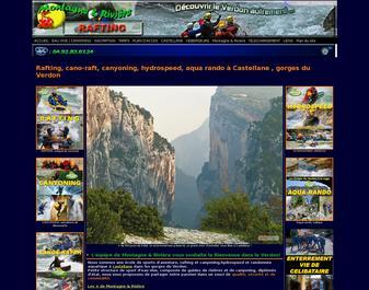 rafting, canyoning dans les gorges du Verdon