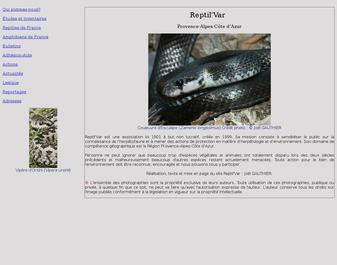 Reptil Var sensibilisation herpétofaune