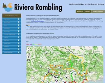 Riviera Rambling : Hikes and Walks in Provence