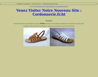 sandalerie six-fournaise