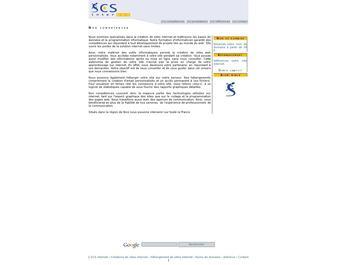 SCS Internet : Création et Hébergement de sites web – Bases de données