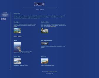 Site de Fred K. Cote d'Azur