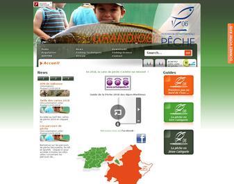 Site de la Fédération départementale de pêche