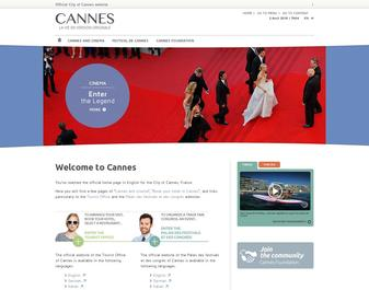 Site officiel de la Ville de Cannes
