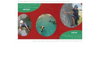 Site web de la société TALWEG: escalade, canyoning, via-ferrata, trekking, VTT, séminaires…