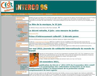 Syndicat CFDT INTERCO06