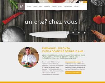 un chef chez vous : Emmanuel Sofonéa
