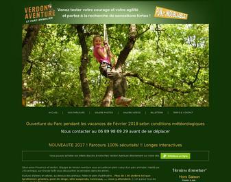 VERDON AVENTURE : La sensation est dans les arbres.