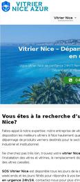 Vitrier Nice Azur