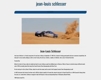 Vivez l'aventures des Rallye Raids avec Jean Louis SCHLESSER