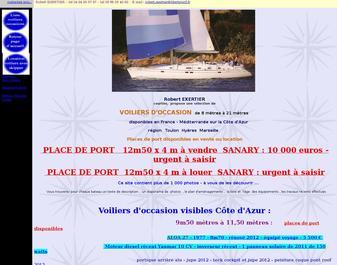 Voiliers d'occasion Côte d'Azur