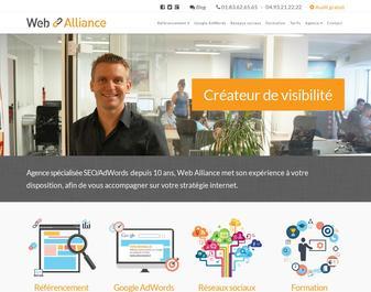 WEB ALLIANCE : Création de sites Web et Référencement Internet