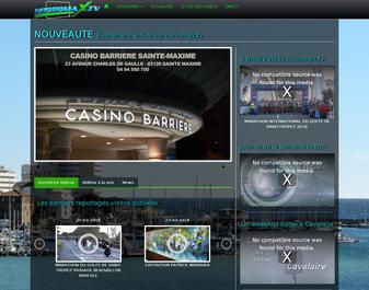 Web Tv de la ville de Sainte Maxime